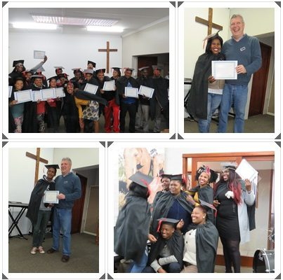 Graduation of students that completed Module 1 of the Paradigm Shift Course